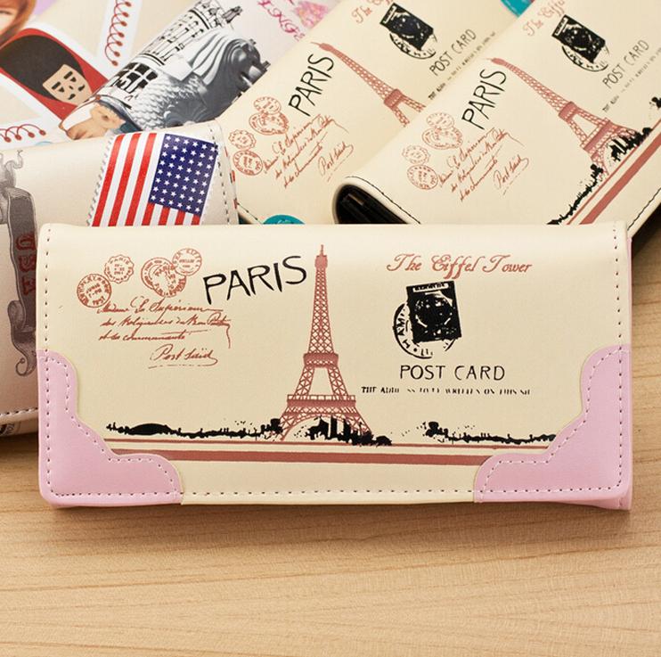 Мода женская кошельки мягкий искусственная кожа леди монет женская бумажник деньги сумочка для телефона клипы портмоне клатч кошельки карты