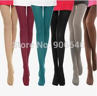 Price drop W142 2014 autumn tight women sweet style colourful cozy velvet wild stretch feet stretch pantyhose wholesale retail