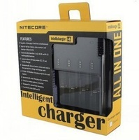 NiteCore Intellicharger i4 Micro-processor Controlled Universal Smart Battery Charger (Black)