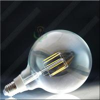 LED filament bulb e27 220v G125 6 long-life edison led lamp freeshipping around world 3 years warranty wholesale