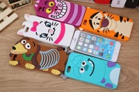 For iphone 6 plus 5.5 inch case Monster Inc. sulley tiger rubber phone defender cases cover wholesale Free shipping