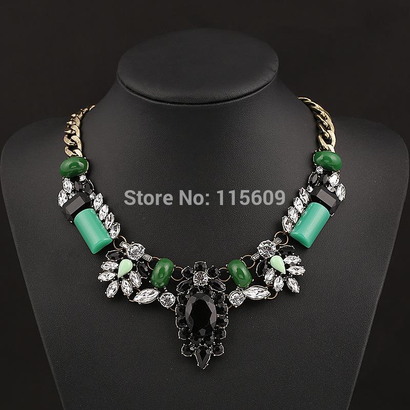 Brand vintage pendant necklace charm women jewelry wedding jewellery wholesale(China (Mainland))