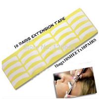 100pairs Individual Eyelash Extension Eye Patch Supply Medical Tool Makeup Styling Lint Free Eye Pad Freeshipping