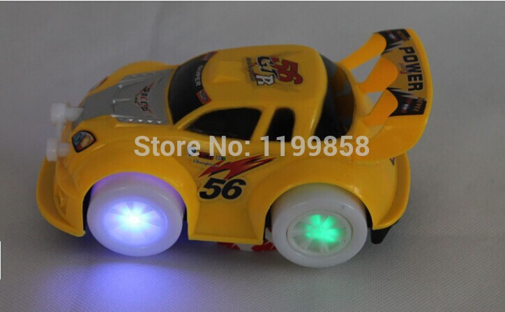 Hot sales Pixar Cars camaro Light music Automatic steering toy cars / truck toy/car/action toy figure(China (Mainland))