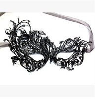 2014 New Design Fashion Sexy Women Queen Mask Lace Holloween Flower Party Mask Eye Masquerade Mask