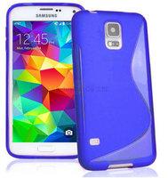 200pcs/Lot TPU S  Line GEL Case Cover for Samsung Galaxy S5 Mini