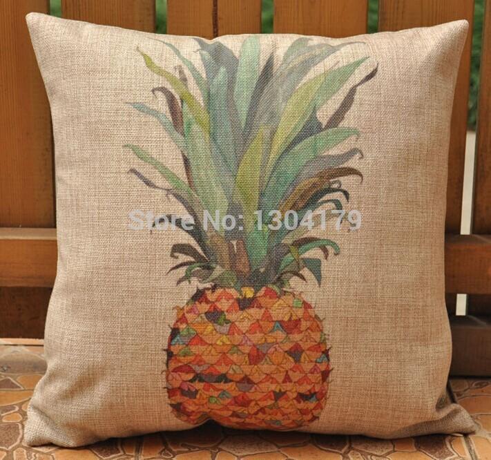 Ikea Schminktisch Schreibtisch ~ ikea stil farbe ananas kissen kissen Zuhause dekorative kissenbezüge