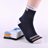 cheap discount cotton blends basketball sports style men's althletic  socks