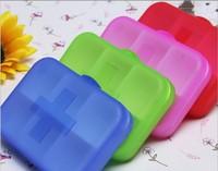 100PCS Pill cases 6 Cells Mini Pill Storage Box Plastic Cases for Medicine Drug Jewelry Organizers Medication pill box wholesale