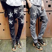 New 2014 mens pant  hip hop joggers sport sarouel jogging long harem pants thermal sweatpants bandana cargo trousers