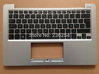 Free Shipping! New keyboard for ASUS X201 X201E S200 S200E x202e with Siver C CASE BE keyboard