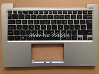 Free Shipping! New keyboard for ASUS X201 X201E S200 S200E x202e with Siver C CASE HU keyboard