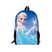 Hot Sale Frozen Barbie Princess School Bags For Girls Mochila Children Cute Backpack Size 42*28*13cm