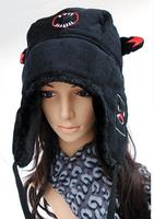 free shipping  NEW Fashion women keep warm Winter thickening couples lei feng's hat Bird shark earmuffs berea winter hats HYL31
