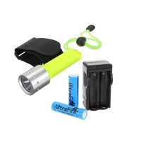 Underwater 1600 Lumen LED Flashlight Torch 60M Waterproof For Diving Hiking Free Shipping S5V