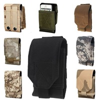 For iphone 6 Plus 5.5,Mobile Phone Bag,Outdoor Army Camo Camouflage Bag Universal Phone Pouch Belt Cover Case For Iphone 6 Case