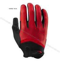Top Quality Long Finger Polyester Cycling Glove for BMX DH Men Male Mountain Dirt Bike Bicycle Cycling road Motocross MTB gloves