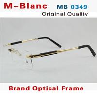 Free shipping 2014 new classic MB0349 brand eyeglasses Man frame/optical eye glasses framework/reading glasses spectacle frame