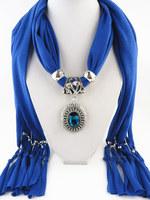 2014 Fashion Jewelry Scarf High Quality Alloy Jewel Pendant Scarf women DIY scarf
