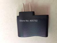 Freeshipping 50pcs/lot AC 100V-240V to DC 5V 500mA USB to 2 Pin US Plug Power Adapter Charger