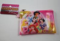 Cute Princesses Cartoon Small Money Coin Change Purse Wallet Bag