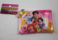 Cute Princesses Cartoon Small Money Coin Bag Change Purse Wallet Bag Cosmetic Bag Cyber Bag