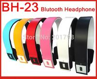 package 100% NEW bluetooth headphones Wireless Bluetooth BH23 headset handsfree headphone earphone speaker with mic free ship