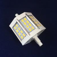 Free shipping DHL 20pcs/lot R7S 5730SMD 10W LED Flood Light Bulb AC85-265V 78mm