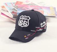 ROUTE 66 men's baseball cap hat women's summer fashion truck cap
