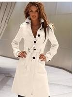2014 New fashion Autumn Winter casual European waistcoat fur wool women coat plus size jacket Long cashmere coat Multi colors