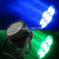 Outdoor LED Par Light  Waterproof Par Light Led IP65 par 64   quad-color 4in1 color  with 7pcs Cree led lamp