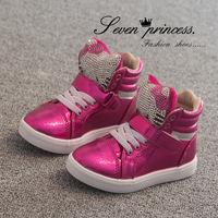 2014 autumn fashion  cute child girls casual shoes hot sale  size 26-30