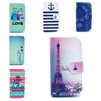 For Samsung Galaxy ACE3 ACE 3 III s7270 s7272 S7275 S7278 Wallet Style Leather Flip Cover Phone Case Card Holder GA009