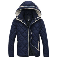 New arrival fashion hooded winter jacket coat men casual slim men's winter jacket parka