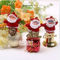 New  chirstmas  snowman Ornaments  for  Christmas  tree decoration and gift 3 kinds 12pcs/lot