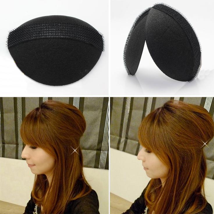 2pcs/Set Magic DIY Hair Fluffy Sponge Princess Head Secret Updo Tuck Fashion Hair Styling Accessories Headwear-003715(China (Mainland))