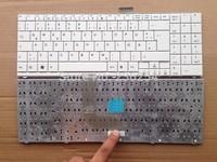 Free Shipping! New keyboard for Tastatur Medion Akoya S5612 MD997930 MD97424  WHITE GR laptop keyboard