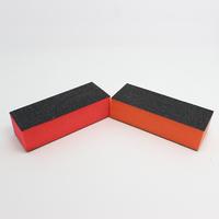 Top selling high quality 3 ways 10pcs nail buffer block