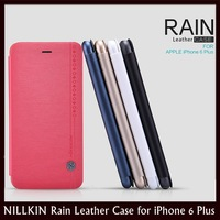 """NILLKIN Rain Series Silk Feelling Card Slot Flip Leather Case for for Apple iPhone 6 Plus 5.5"""" + Retail+Free Film+Free Shipping"""