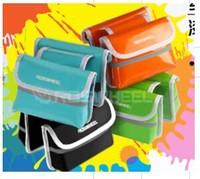 Hot! Roswheel Bikes Double Saddle Bag / Cycling Bicycle Tube Bag / Front Bicycle Tube Bag Blue Free shipping