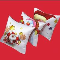 Home Party Use Digital Christmas Santa Print Lovely Cushion Cover Throw Pillow Case Velvet Pillowslip Pillowcase DP673310