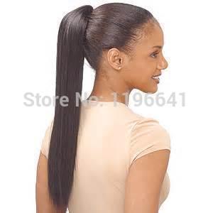 Human Hair Afro Puff Drawstring 23