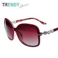 Fashion 2014 Women Sunglasses Polarized Brand Oculos Feminino Eye Glasses V65