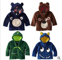 Wholesale children sweaters 2014 children's clothing sweater boys cartoon coat jacket 5pcs/lot