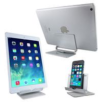 Brand New Stylish Universal Adjustable Metal Aluminum Tablet Phone Desktop Stand Holder Cradle Mount for Phones iPad Tablet