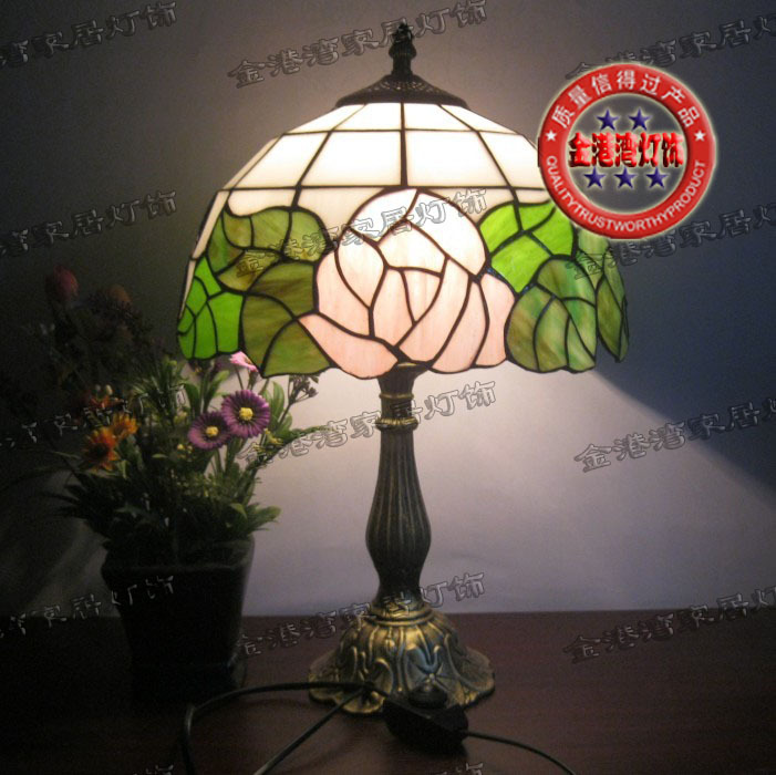 Burst loss where the whole network lowest shipping Tianyuan Di Trinity Tiffany lamps bedroom bedside lamp special child study(China (Mainland))