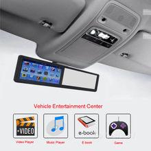 HD RearView Mirror With 5″ GPS Navigator AV-IN rsal Car FM Media Center Player