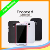 1Pc Original Nillkin super frosted shield Hard Matte Cover Case For Motorola Moto G 2nd Gen G2 2014 XT1063 XT1068 Free Shipping
