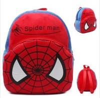 Baby toy small school bag child backpack shoulder bag spider man red