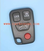Best qaulity for VOLVO S40 V40 S70 C70 V70 Remote Key FOB Case Shell blank 3+1 Panic Button 5pcs